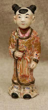 Antique Japanese Porcelain Figure