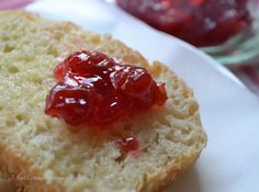 Home made English muffin bread is delicious toasted and slathered in butter that melts into all those nooks and crannies! English Muffin Bread, English Muffins, Bread Jam, Slow Cooker Bread, Artisan Bread Recipes, Best Bread Recipe, Breakfast Snacks, Breakfast Casserole, Red Cottage
