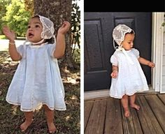 """Heirloom Vertical Lace """"Mary Claire"""" Dress for Baby and Toddler Girls"""