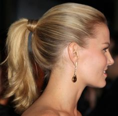 Tie The Ponytail Style
