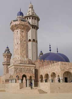senegal  Gran Mezquita de Dakar