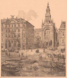 Heinrich Seeling (1852-1932) Neues Theater am Schiffbauerdamm, Berlin,  1891–1892 , Bertolt-Brecht-Platz 1 (historisch: Schiffbauerdamm 4a-7)