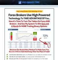 Pro Binary Tips: Use this system to win $43,516 a month or more trading binary options!