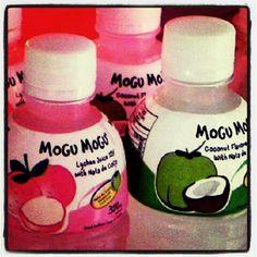 Flavor-note: #coconut flavored drink 'Mogu Mogu®' >> www.mogumogu.nl