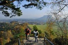 Blick vom Rauenstein, Malerweg - Sächsische Schweiz