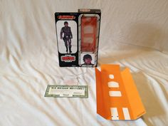 "Custom reproduction 12 inch ESB  prototype Luke Skywalker Bespin box and inserts complete with twist ties and paper work , Based on  the unreleased ESB 12"" boxes"
