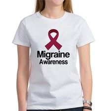 Migraine Awareness Ribbon Tee