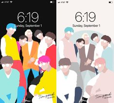 K-Pop lockscreens & desktop wallpapers featuring BTS, BlackPink, Seventeen, NCT, Stray Kids and many more. Matching Wallpaper, Korean Words, Mission Accomplished, Cheer Me Up, Band Logos, Tears Of Joy, Bts Drawings, Im Done, Frases