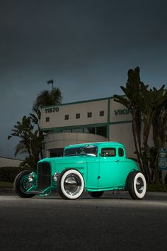 Sea foam Hot Rod