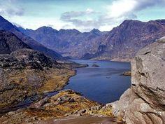 loch on isle of skye independent walking scotland
