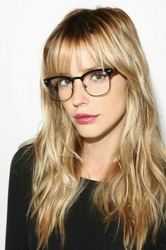 Her glasses are AMAZING