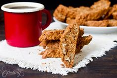 Apples and Oats Biscotti :: Home Cooking Adventure