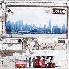 I love New York - Scrapbook.com