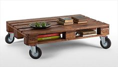 DIY Pallet Stain Coffee Table   Pallet Furniture Plans