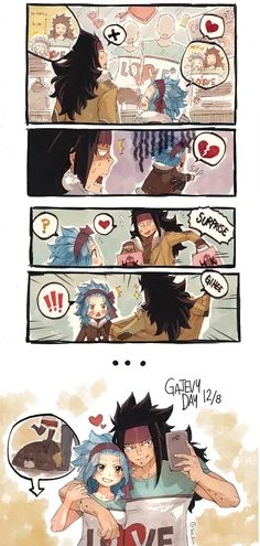 Photo: Today I learn that today is GaLe day lol.  Anime/Manga = Fairy Tail