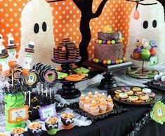 Mesas divertidas para Halloween