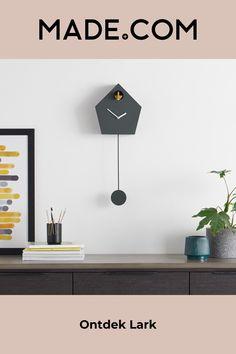 Grey Clocks, Pendulum Wall Clock, Designer, Inspiration, House, Furniture, Home Decor, Products, Amp
