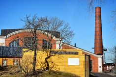 Old factory in Suomenlinna. Old Factory, Helsinki, Anna, Cabin, Mansions, House Styles, Instagram, Home, Decor