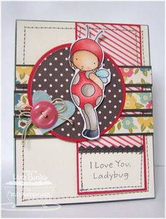 MFTWSC92-little lady love by lisahenke - Cards and Paper Crafts at Splitcoaststampers