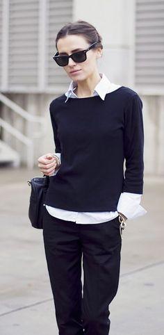 Classic + Black & White + Style