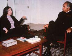 La Fallaci intervista Ali Bhutto nel 1972 - Foto - Oriana Fallaci