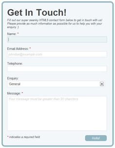 Improve Website Usability 30 Best HTML5 and CSS3 Form Exercises | Multy Shades