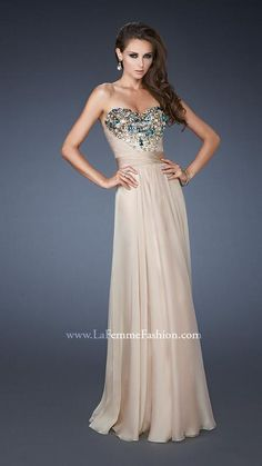 La Femme 18551 | La Femme Fashion 2013 - La Femme Prom Dresses - Dancing with the Stars