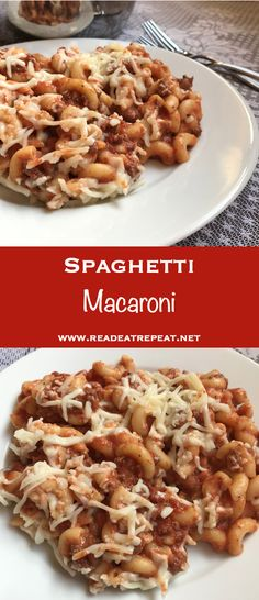 Looking for an easy, hot, kid-friendly dinner? That's the perfect description for Spaghetti Macaroni!