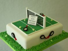 Image result for tennis court cake