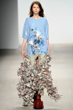 Central Saint Martins Fall 2012 Ready-to-Wear Fashion Show - Luke Brooks