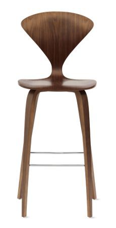 Cherner Barstool *does this wood compete or compliment bamboo floor - floor very honey