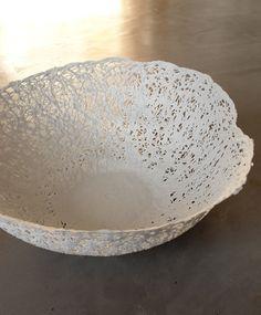 Collection de dentelle de porcelaine - Plumetis Magazine