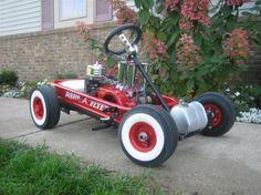 Miller - Welding Projects - Idea Gallery - Radio Flyer Go Kart