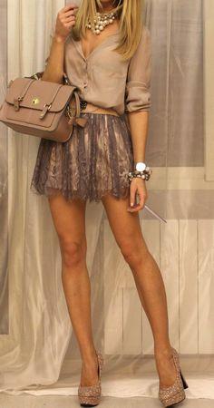 Loving this beige ensemble with a Rose Gold Vapor Couture e-cig: www.vaporcouture.com