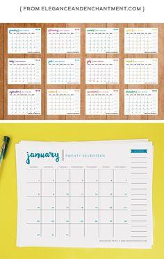 Free Printable Calendars  Free Printable Calendar The O