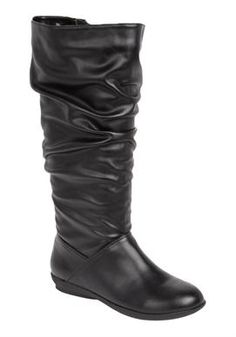 Wide Width Alanis wide calf boots ComfortCradles® by Comfortview® | Boot Sale! from Woman Within sale $59.99