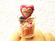 Ice Cream Ring Kawaii Food Balloon Candy