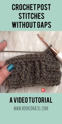 Watch This Video Beauteous Finished Make Crochet Look Like Knitting (the Waistcoat Stitch) Ideas. Amazing Make Crochet Look Like Knitting (the Waistcoat Stitch) Ideas. Crochet Stitches Patterns, Stitch Patterns, Knitting Patterns, Knitting Ideas, Crotchet Stitches, Tunisian Crochet, Knit Crochet, Crochet Hats, Crochet Beanie