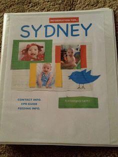 baby information binder