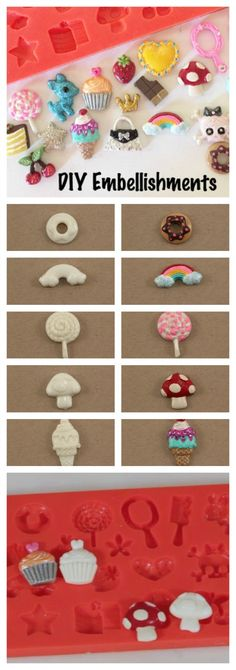 How To Make DIY Embellishments for Crafts & Scrapbooking