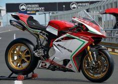 #mv #agustan F4 RC #italiandesign . Very impressive spec.