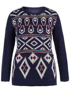 SHARE & Get it FREE   Geometrical Plus Size Graphic Pullover SweaterFor Fashion Lovers only:80,000+ Items • New Arrivals Daily • Affordable Casual to Chic for Every Occasion Join Sammydress: Get YOUR $50 NOW!