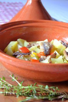 Tajine de sardinas de cubo | mirecetario.es