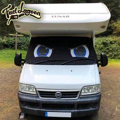 NIESMANN+BISCHOFF XL sticker decal camper caravan 6 Pieces