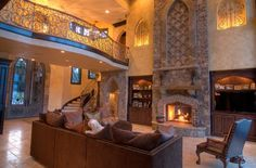 old world family rooms | Elite Design Group - Portfolio