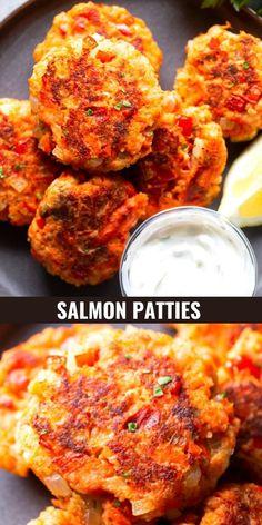 Salmon Fish Recipe, Salmon Sushi, Salmon Cakes, Baked Salmon Recipes, Fish Recipes, Salmon Croquettes, Salmon Patties, Roasted Salmon, Cooking Salmon
