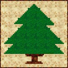 Sew a Christmas Tree Quilt with Log Cabin Quilt Blocks: Sew a Log Cabin Christmas Tree Quilt