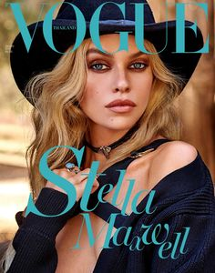 Vogue Thailand January 2018 Stella Maxwell by YuTsai