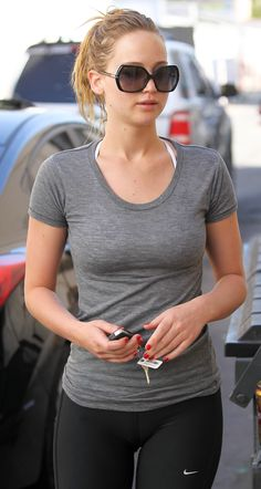 Jennifer Lawrence may be over weight in Hollywood but I would kill for her body