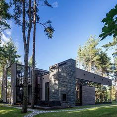 ONYX House by Arch-D Studio Architects (2012) Tallinn #Estonia ... by modern.architect